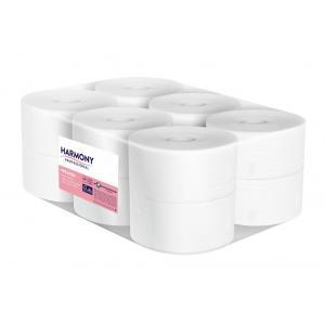 Toaletný papier 2-vrstvový Harmony professional Jumbo 19 cm