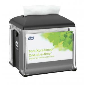 Zásobník stolný na servítky TORK Xpressnap Snack Classic čierny N10
