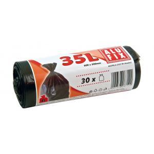 Vrecia 35l 10μ 500x600mm 30ks čierne