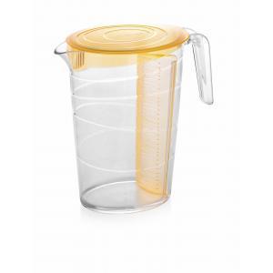 Džbán myDRINK 2,5l a 4 poháre, oranžová