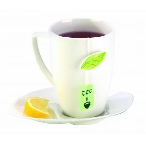 Hrnček porcelánový YASMIN na čaj