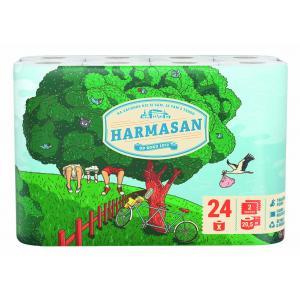 Toaletný papier 2-vrstvový Harmasan biely 24 ks