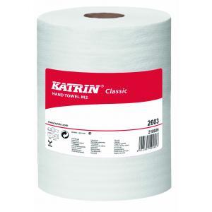 Papierové utierky v rolke 2-vrstvové KATRIN Classic Roll M 6 ks