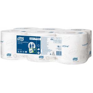 Toaletný papier 2-vrstvový TORK Smart One biely 6 ks