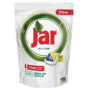 JAR tablety do umývačky riadu All in One (60ks) Yellow