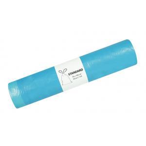 Vrecia pevné zaťahovacie 120l 20μ 700x1000mm 20ks modré