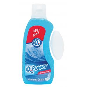 Q-Power WC záves gél 400ml Oceán