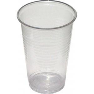 Plastové poháre priehľadné 0,2 l /100ks/