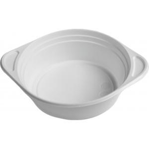 Plastové taniere na polievku 100 ks