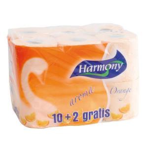 Papier Harmony Natural Orange 2-vrstvový pomarančový 12 ks