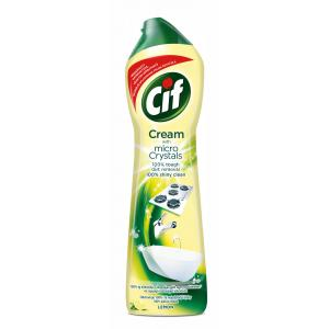 Cif Cream Lemon tekutý piesok 720 g/500 ml