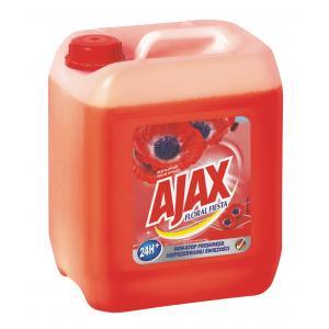 Ajax na podlahy Floral Fiesta 5l Red Flowers (červený)