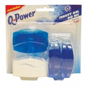 Toaletný blok Q-POWER Oceán 3 x 55 ml