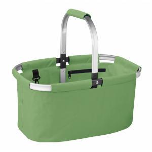Nákupný skladací košík SHOP! zelený