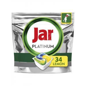 JAR tablety do umývačky riadu Platinum All in One (34ks) Yellow