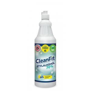 CleanFit dezinfekčný gél 70% citrus na ruky 1l+ pumpička ZDARMA