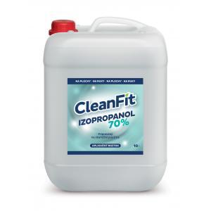 CleanFit dezinfekčný roztok IZOPROPYL 70% 10l