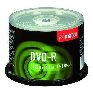 Imation DVD-R 16x 4,7GB cake 50 ks
