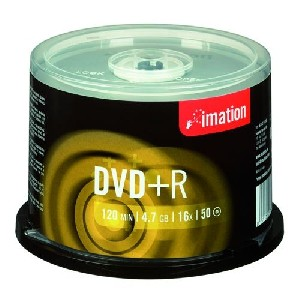 Imation DVD+R 16x 4,7GB cake 50 ks