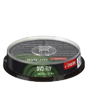 Imation DVD-RW 4x 4,7GB cake 10 ks