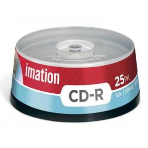 CD-R Imation 25 ks cake, 52x 700 MB