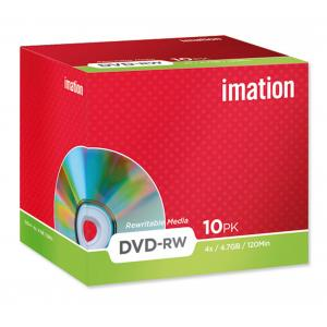 DVD-RW Imation 4x, 4,7 GB