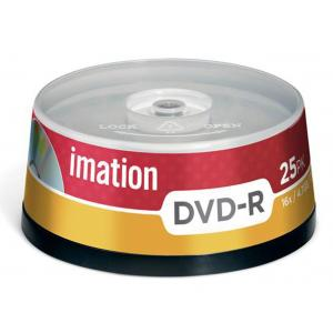 DVD-R Imation 16x 25 ks cake  4,7 GB