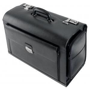 Pilotný kufor VERONA Alassio čierny