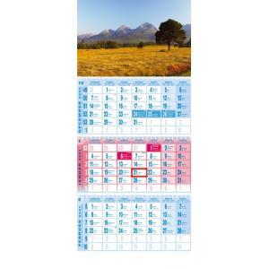 Kalendár nástenný trojdielny Tatry
