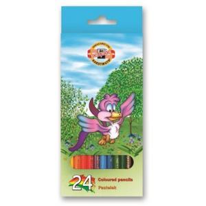 Farbičky Koh-i-noor 3554 drevené 24ks