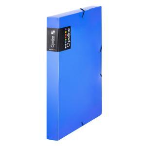 Plastový box s gumičkou Karton PP Opaline modrý