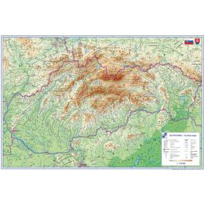 Podložka s mapou Slovenska 40x60 cm