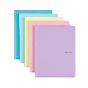 Obal na doklady Karton PP Pastelini mix farieb