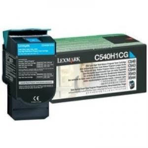 Toner Lexmark C540A1CG C540/C543/C544/X543/X544 cyan