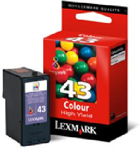 Atr.Lexmark 18Y0143 #43 XL Col