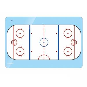 Tabuľa Accents 90x120 cm, ľadová plocha
