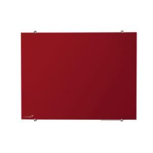 Tabuľa GLASSBOARD 90x120 cm, červená