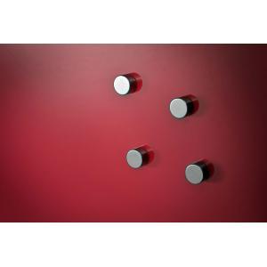 Tabuľa GLASSBOARD 100x150 cm, červená