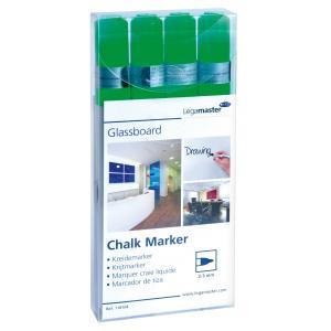 Popisovač na tabule Legamaster GLASSBOARD zelený 4ks
