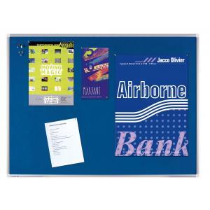 Tabuľa napichovacia PREMIUM 90x120 cm modrá
