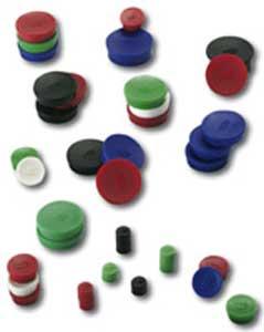Magnet 30 mm biely 10 ks