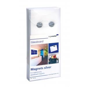 Magnety na tabule GLASSBOARD, 6ks