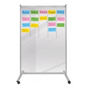 Predeľovacia tabuľa ECONOMY 150x120cm transparentná