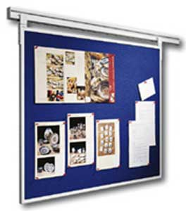 Napichovacia plstená tabuľa LEGALINE PROFESSIONAL 90x120 cm modrá