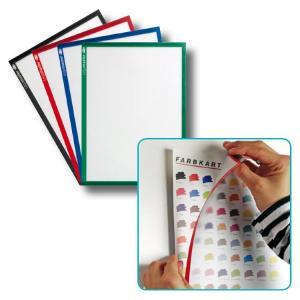 Magnetický držiak dokumentov A4 5ks modrý