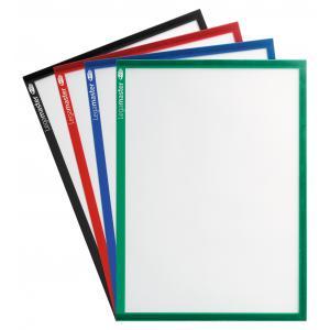 Magnetický držiak dokumentov A3 5ks zelený