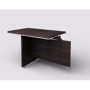 Doplnkový stôl Lenza Wels, 110×76,2×70cm, wenge