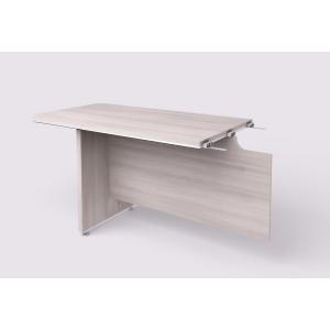 Doplnkový stôl Lenza Wels, 130x76,2x70 cm, agát svetlý