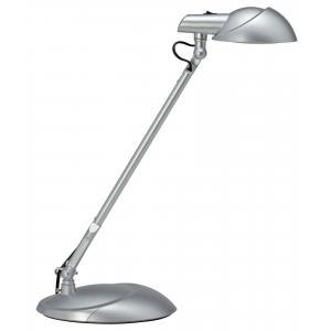 LED lampa stolová MAULstorm strieborna