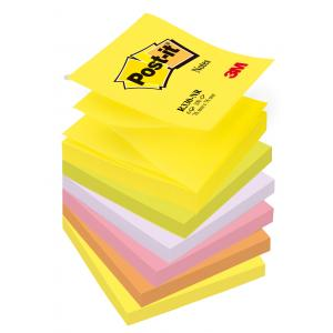 Samolepiaci Z-bloček Post-it 76x76 neónové farby 100 lístkov